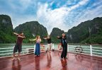 Cours tai-chi baie Halong  Amica Travel