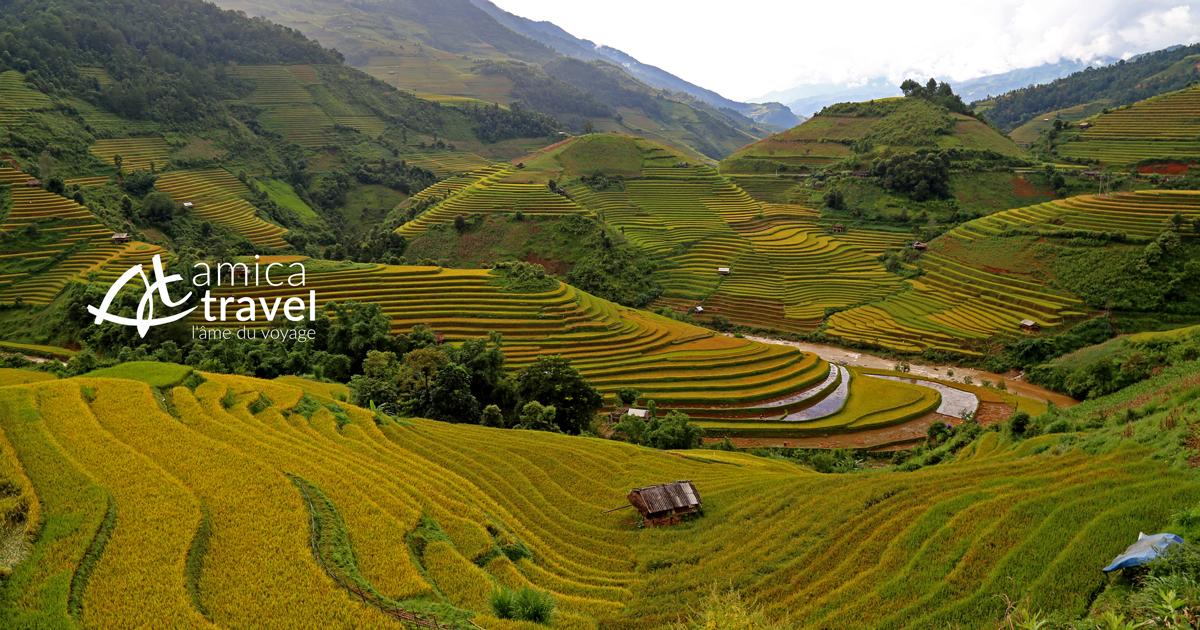Trekking à Mu Cang Chai Yen Bai agence de voyage au vietnam