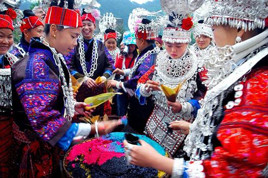 Les Miao de la province du Guizhou