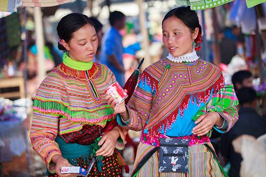 Hmong fleur Bac Ha