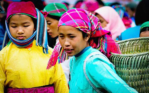 Marché Hmong à Ha Giang