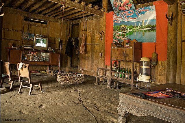 Maison traditionnelle des Phù Lá
