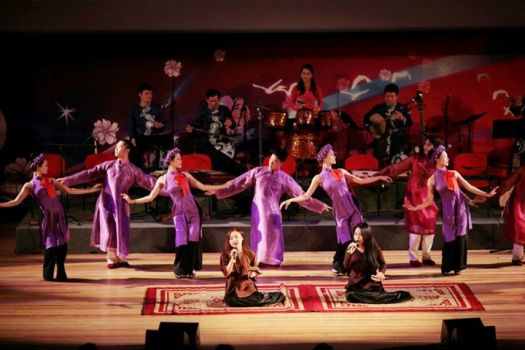 danse traditionnelle vietnam