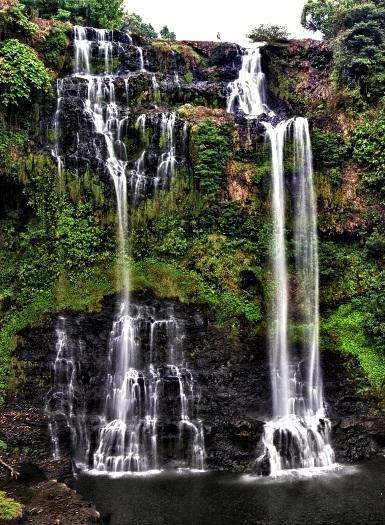 chutes d'eau laos tad yeung