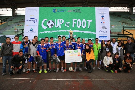 France Alumni Vietnam, équipe vainqueur