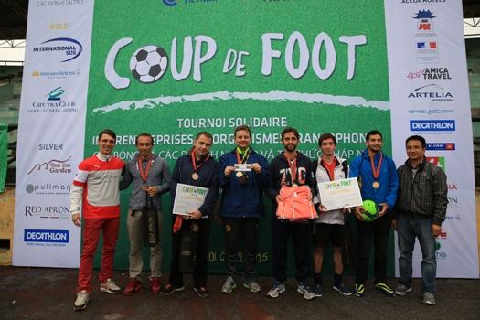 Ambassade de France, les demi-finalistes