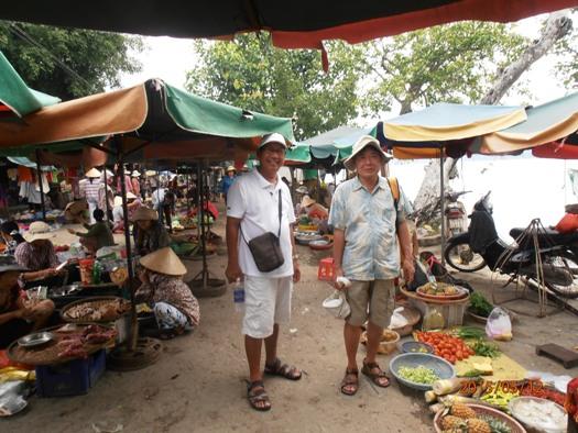 Découverte du marché vietnamien