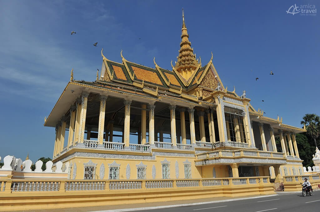 Palais royal de Phnom Penh, Cambodge -